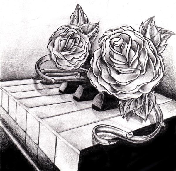 Müzik dövmeleri